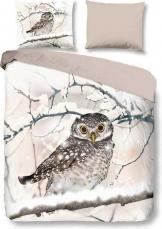 Snoozing-Snowy-Owl-Flanel